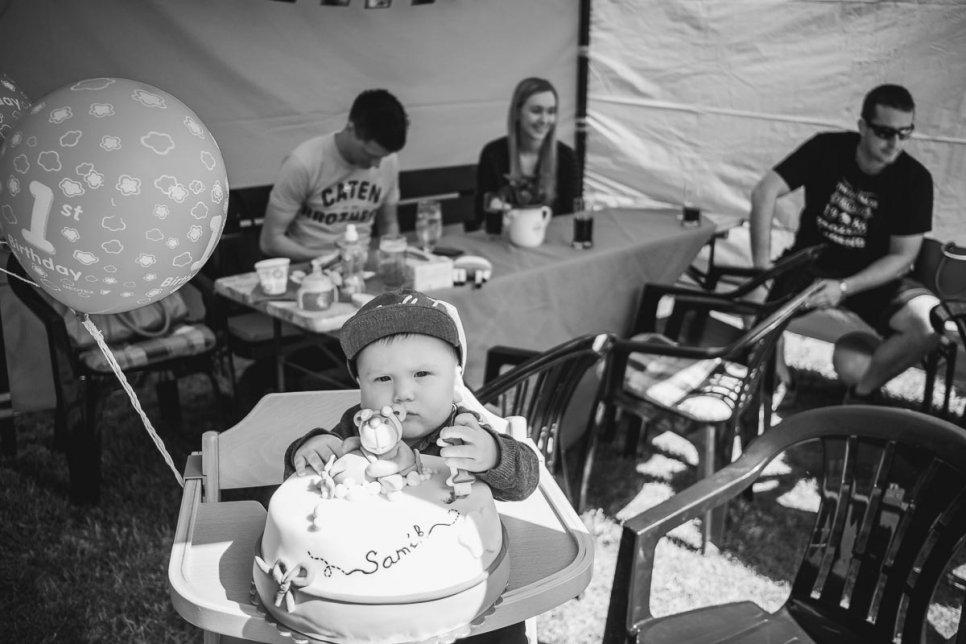 Samík a jeho první narozeniny